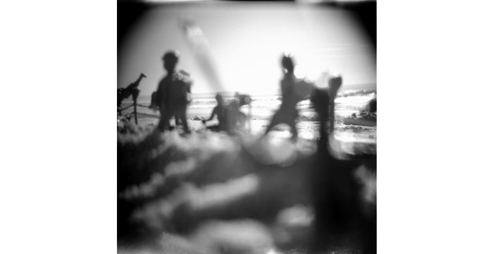Advancing, 1998. Toy Camera, B&W Film, Silver Gelatin Print, 30x40