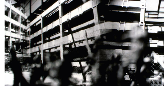 Deconstruction, 1999. Toy Camera, B&W Film, Silver Gelatin Print, 20x40